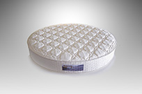 Custom Round Mattress from Mattress Mill